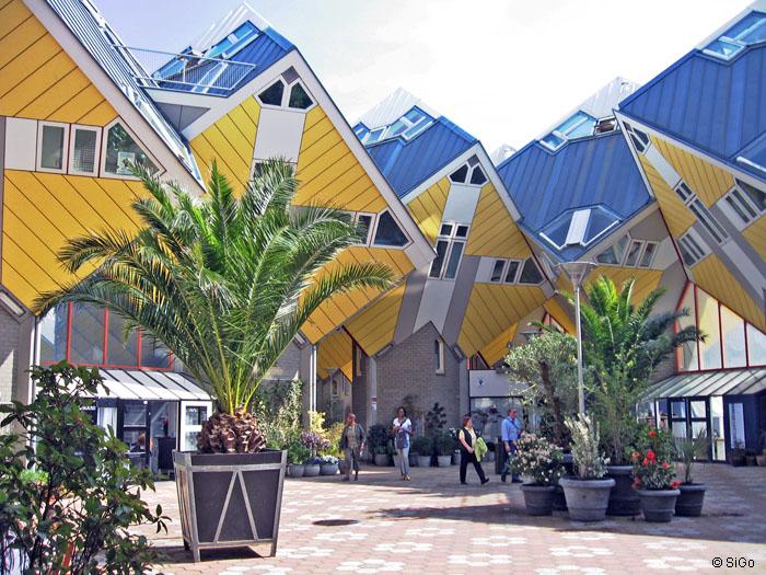 Der Gemeinschaftsbereich bei den Kubuswohnungen