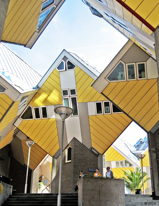 Kubuswohnungen in Rotterdam