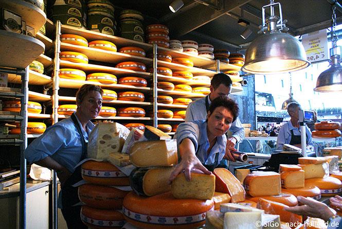 Käse in der Markthalle Rotterdam