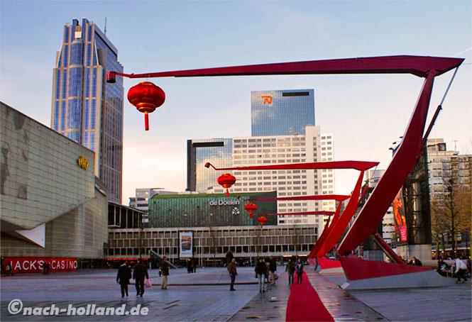 Der Schouwburgplein in Rotterdam