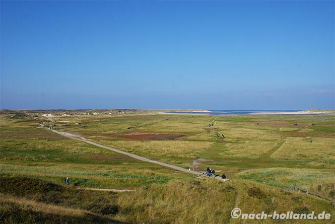 Naturgebiet De Slufter auf Texel